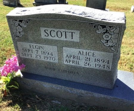 SCOTT, ELGIN - Shelby County, Tennessee | ELGIN SCOTT - Tennessee Gravestone Photos