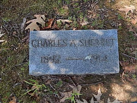 SHERRET, CHARLES A - Shelby County, Tennessee | CHARLES A SHERRET - Tennessee Gravestone Photos