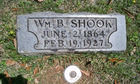 SHOOK, WILLIAM B. - Shelby County, Tennessee   WILLIAM B. SHOOK - Tennessee Gravestone Photos