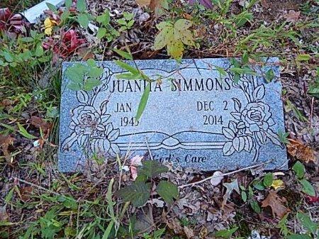 SIMMONS, JUANITA - Shelby County, Tennessee | JUANITA SIMMONS - Tennessee Gravestone Photos