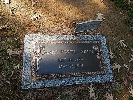 POWELL SIMON, MARY - Shelby County, Tennessee | MARY POWELL SIMON - Tennessee Gravestone Photos