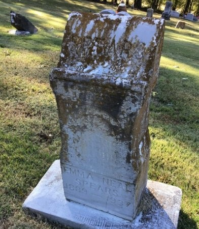 NEAL SPEARS, EMMA - Shelby County, Tennessee | EMMA NEAL SPEARS - Tennessee Gravestone Photos