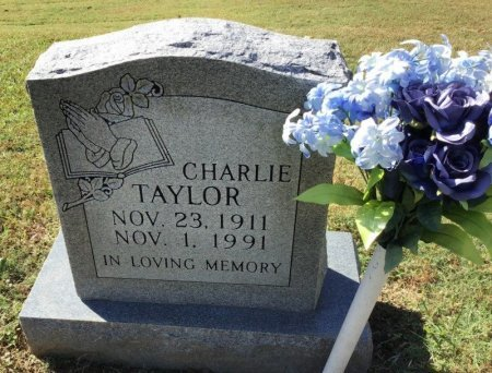 TAYLOR, CHARLIE - Shelby County, Tennessee | CHARLIE TAYLOR - Tennessee Gravestone Photos
