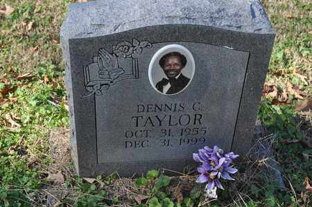 TAYLOR, DENNIS C. - Shelby County, Tennessee | DENNIS C. TAYLOR - Tennessee Gravestone Photos