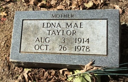 TAYLOR, EDNA - Shelby County, Tennessee | EDNA TAYLOR - Tennessee Gravestone Photos