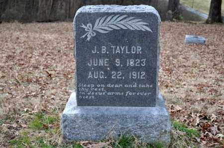 TAYLOR, J B - Shelby County, Tennessee | J B TAYLOR - Tennessee Gravestone Photos