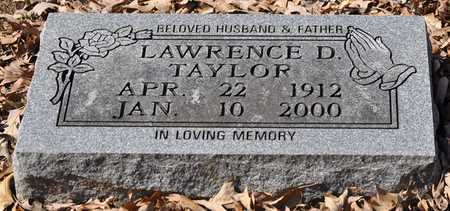 TAYLOR, LAWRENCE D. - Shelby County, Tennessee | LAWRENCE D. TAYLOR - Tennessee Gravestone Photos