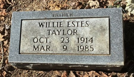 TAYLOR, WILLIE ESTES - Shelby County, Tennessee | WILLIE ESTES TAYLOR - Tennessee Gravestone Photos