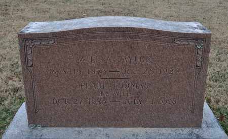 THOMAS TAYLOR, PEARL - Shelby County, Tennessee | PEARL THOMAS TAYLOR - Tennessee Gravestone Photos