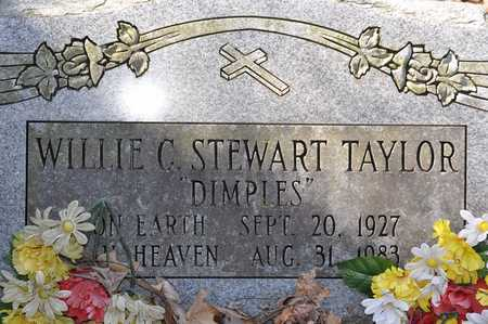 """TAYLOR, WILLIE C. """"DIMPLES"""" - Shelby County, Tennessee 
