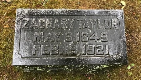 TAYLOR, ZACHARY - Shelby County, Tennessee | ZACHARY TAYLOR - Tennessee Gravestone Photos