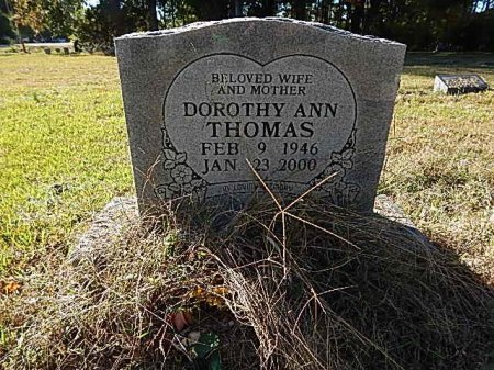 THOMAS, DOROTHY ANN - Shelby County, Tennessee | DOROTHY ANN THOMAS - Tennessee Gravestone Photos