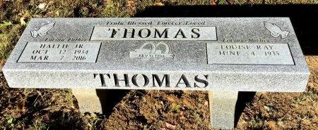 THOMAS, JR., HALLIE - Shelby County, Tennessee | HALLIE THOMAS, JR. - Tennessee Gravestone Photos