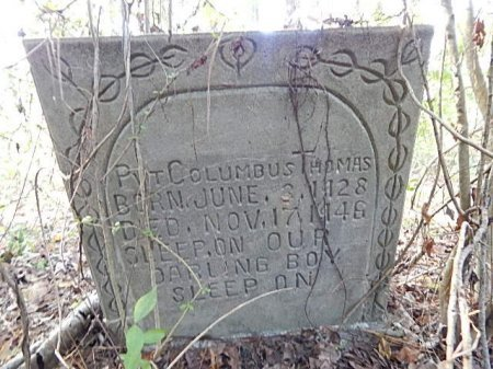 THOMAS (VETERAN), COLUMBUS - Shelby County, Tennessee | COLUMBUS THOMAS (VETERAN) - Tennessee Gravestone Photos
