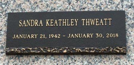 KEATHLEY THWEATT, SANDRA - Shelby County, Tennessee | SANDRA KEATHLEY THWEATT - Tennessee Gravestone Photos