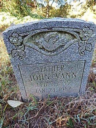 VANN, JOHN - Shelby County, Tennessee   JOHN VANN - Tennessee Gravestone Photos
