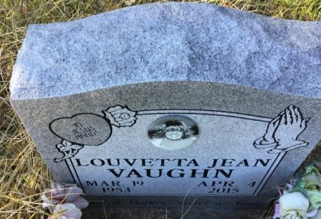 VAUGHN, LOUVETTA JEAN - Shelby County, Tennessee   LOUVETTA JEAN VAUGHN - Tennessee Gravestone Photos