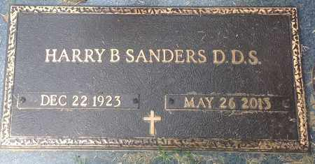 SANDERS (VETERAN WWII), HARRY - Shelby County, Tennessee | HARRY SANDERS (VETERAN WWII) - Tennessee Gravestone Photos