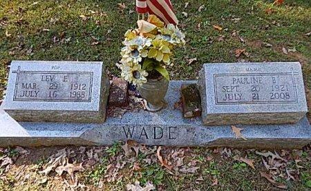 WADE, PAULINE - Shelby County, Tennessee | PAULINE WADE - Tennessee Gravestone Photos