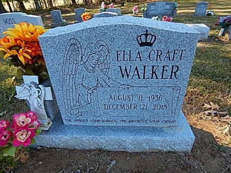 WALKER, ELLA - Shelby County, Tennessee | ELLA WALKER - Tennessee Gravestone Photos