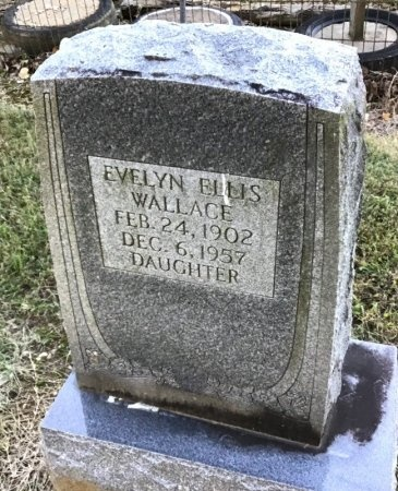 ELLIS WALLACE, EVELYN - Shelby County, Tennessee | EVELYN ELLIS WALLACE - Tennessee Gravestone Photos