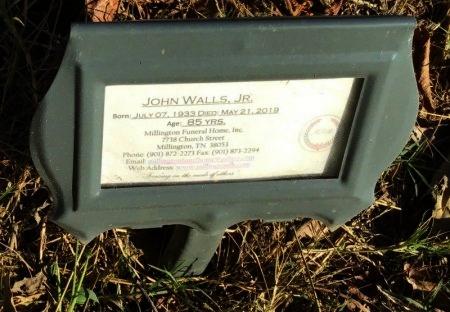 WALLS, JR., JOHN - Shelby County, Tennessee | JOHN WALLS, JR. - Tennessee Gravestone Photos