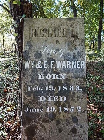 WARNER, RICHARD L - Shelby County, Tennessee | RICHARD L WARNER - Tennessee Gravestone Photos