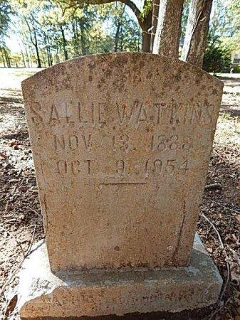 WATKINS, SALLIE - Shelby County, Tennessee | SALLIE WATKINS - Tennessee Gravestone Photos