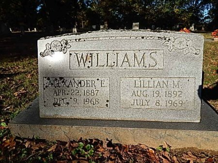 WILLIAMS, ALEXANDER E - Shelby County, Tennessee | ALEXANDER E WILLIAMS - Tennessee Gravestone Photos