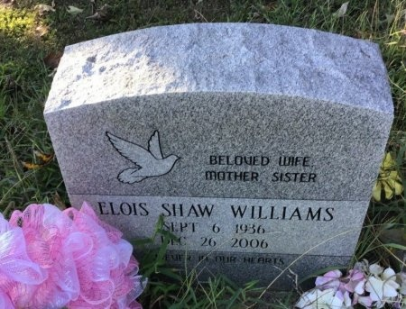 SHAAW WILLIAMS, ELOIS - Shelby County, Tennessee | ELOIS SHAAW WILLIAMS - Tennessee Gravestone Photos