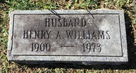 WILLIAMS, HENRY A. - Shelby County, Tennessee | HENRY A. WILLIAMS - Tennessee Gravestone Photos