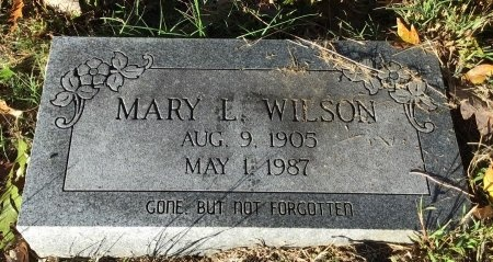 WILSON, MARY L. - Shelby County, Tennessee   MARY L. WILSON - Tennessee Gravestone Photos