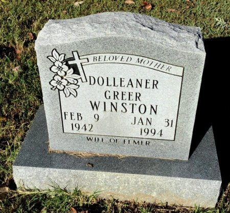 WINSTON, DOLLEANER - Shelby County, Tennessee | DOLLEANER WINSTON - Tennessee Gravestone Photos