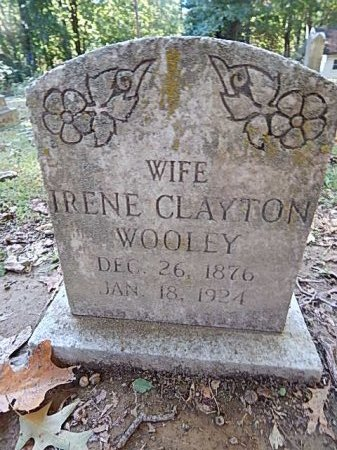 WOOLEY, IRENE - Shelby County, Tennessee | IRENE WOOLEY - Tennessee Gravestone Photos