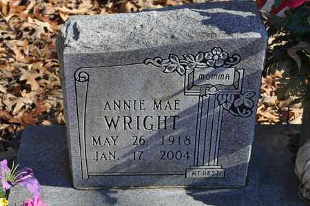 WRIGHT, ANNIE MAE - Shelby County, Tennessee   ANNIE MAE WRIGHT - Tennessee Gravestone Photos