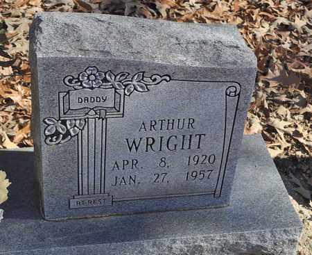 WRIGHT, ARTHUR - Shelby County, Tennessee | ARTHUR WRIGHT - Tennessee Gravestone Photos