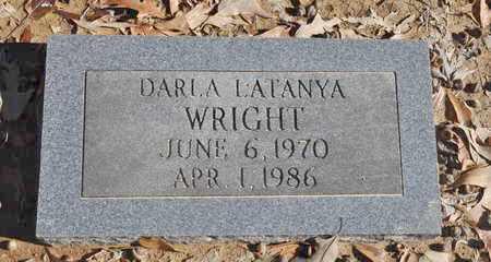 WRIGHT, DARLA LATANYA - Shelby County, Tennessee | DARLA LATANYA WRIGHT - Tennessee Gravestone Photos
