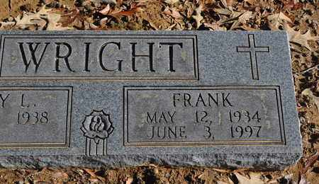 WRIGHT, FRANK - Shelby County, Tennessee | FRANK WRIGHT - Tennessee Gravestone Photos