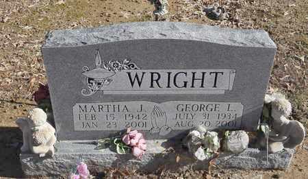 WRIGHT, MARTHA J. - Shelby County, Tennessee | MARTHA J. WRIGHT - Tennessee Gravestone Photos