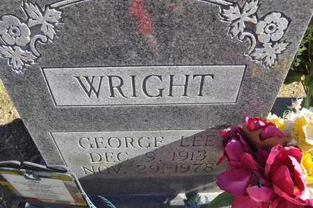 WRIGHT, GEORGE LEE - Shelby County, Tennessee | GEORGE LEE WRIGHT - Tennessee Gravestone Photos