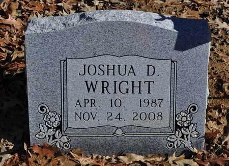 WRIGHT, JOSHUA D. - Shelby County, Tennessee | JOSHUA D. WRIGHT - Tennessee Gravestone Photos