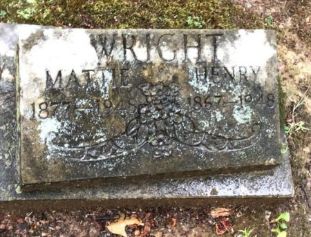 WRIGHT, HENRY - Shelby County, Tennessee | HENRY WRIGHT - Tennessee Gravestone Photos