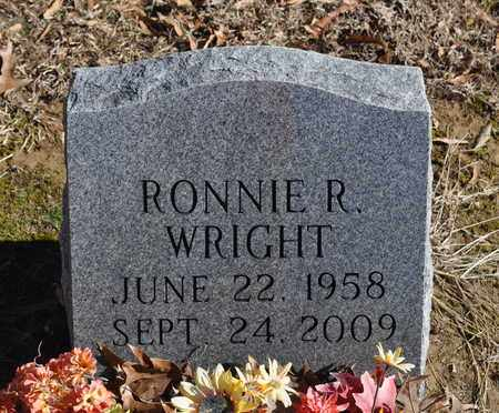 WRIGHT, RONNIE R. - Shelby County, Tennessee   RONNIE R. WRIGHT - Tennessee Gravestone Photos