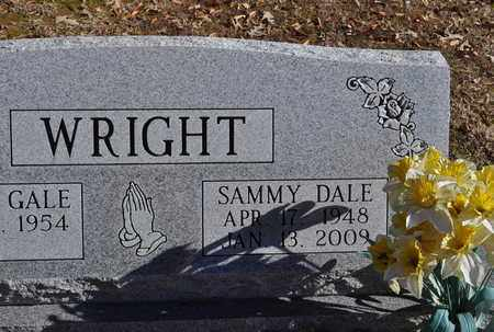 WRIGHT, SAMMY DALE - Shelby County, Tennessee | SAMMY DALE WRIGHT - Tennessee Gravestone Photos