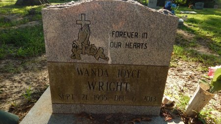 WRIGHT, WANDA JOYCE - Shelby County, Tennessee | WANDA JOYCE WRIGHT - Tennessee Gravestone Photos