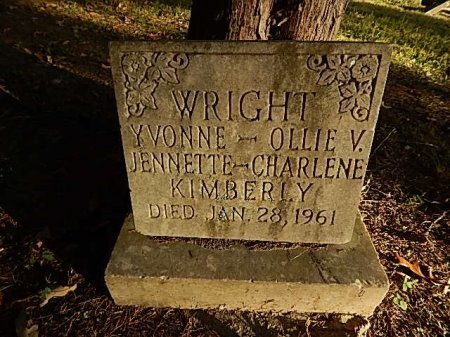 WRIGHT, YVONNE - Shelby County, Tennessee | YVONNE WRIGHT - Tennessee Gravestone Photos