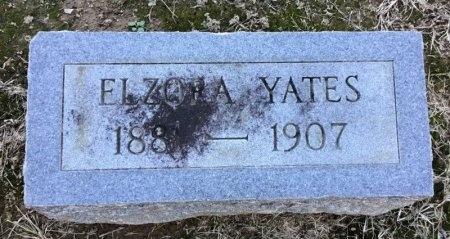 YATES, ELZORA - Shelby County, Tennessee   ELZORA YATES - Tennessee Gravestone Photos