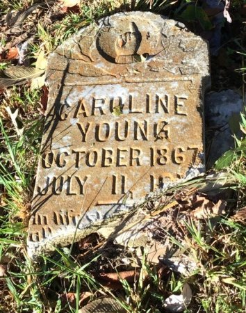 BATTLE YOUNG, CAROLINE - Shelby County, Tennessee | CAROLINE BATTLE YOUNG - Tennessee Gravestone Photos