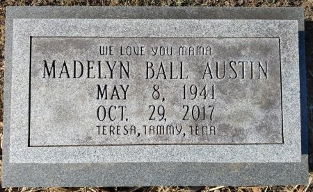 AUSTIN, MADELYN - Stewart County, Tennessee | MADELYN AUSTIN - Tennessee Gravestone Photos
