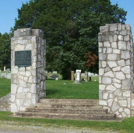 *DOVER CEMETERY ENTRANCE,  - Stewart County, Tennessee |  *DOVER CEMETERY ENTRANCE - Tennessee Gravestone Photos